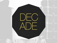 Decade Logo Concept