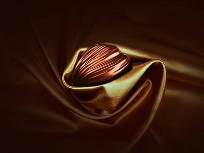 Belvaux velvet gold design branding leemon luxury chocolate photoshop
