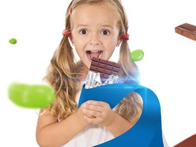 Soma engineering company celebretion visual phomanipulation clean blue candy chocolate