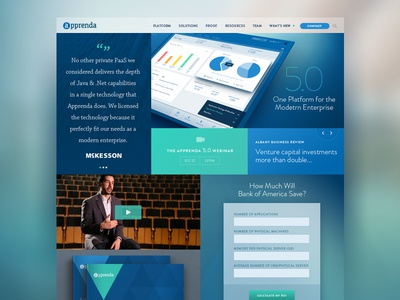 Homepage Launch
