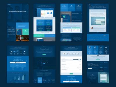 Site Unification website unify blue apprenda software