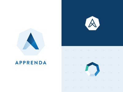 Apprenda Rebrand rebrand identity software brandmark branding icon logo