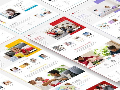 Pinhole Press colorful clean flat product launch ecommerce homepage website