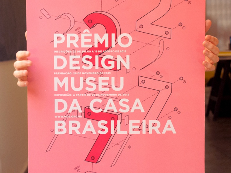 #27 / Prêmio Design MCB poster cartaz premio brasil construction 27