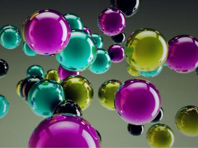CMYK Spheres cmyk spheres c4d photoshop