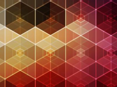 Hexagonal iPhone Wallpaper