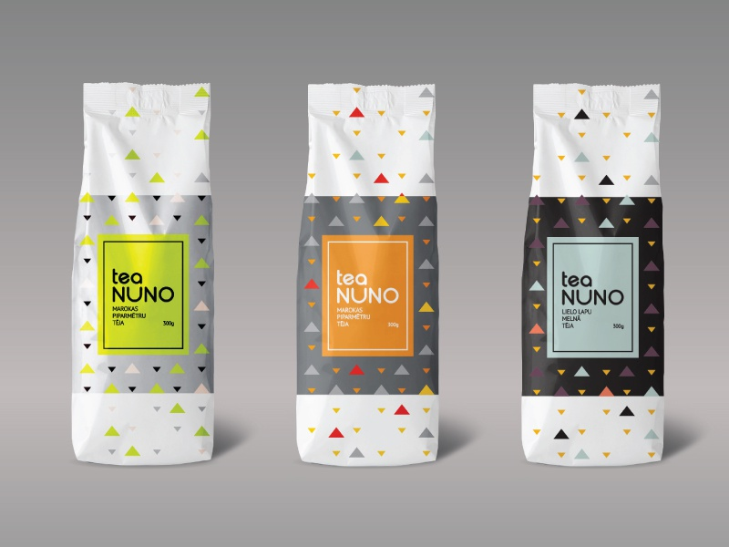 tea package design by vilmars blums dribbble