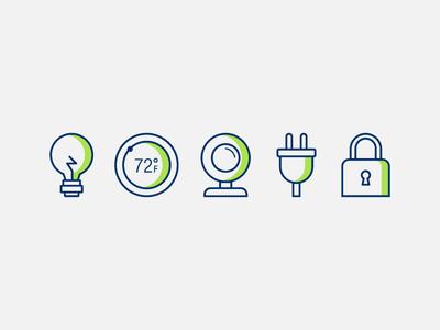 Smart-home Tech Icons