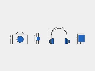 Millennial Tech Icons
