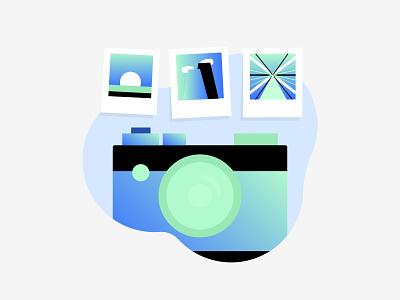 Camera & Photos gradient iconography icon illustration photos camera