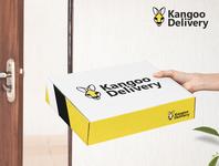 Kangoo Delivery kangoo branding concept logo vector art design