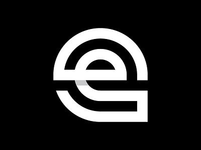 e thicklines symbol icon logo