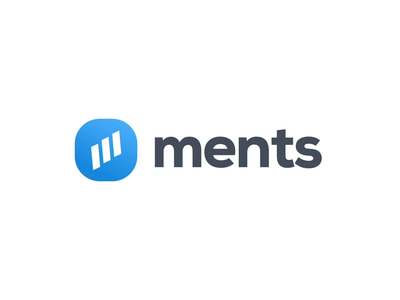 ments Logo Animation minimal flat icon typography vector branding logo illustration design animation