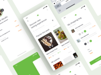 Hanyah Grocery App grocery store grocery app grocery interface ux commerce ios android icon logo design illustration ui
