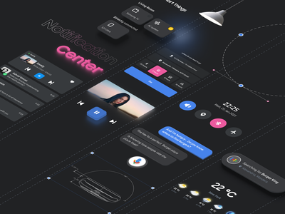 Smart Watch UI components component library components watch isometric branding illustration icon android ios app animation design interface ui