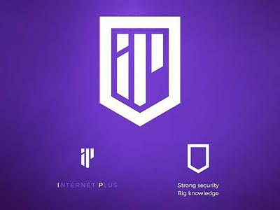 Internet plus logo software company