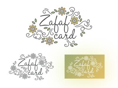 Zafaf card Branding