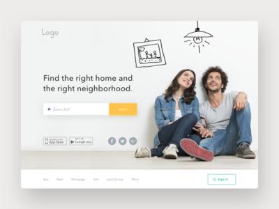 Airbnb redesign fun