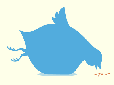 Fat Twitter bird twitter logo fat funny