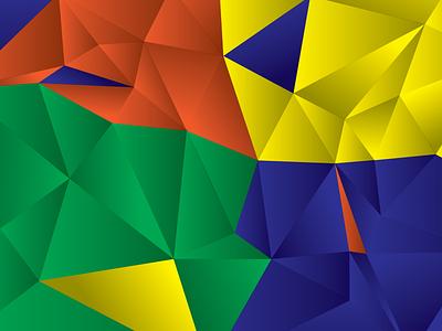 Svg.Js Intro svg samsung tile triangles color background