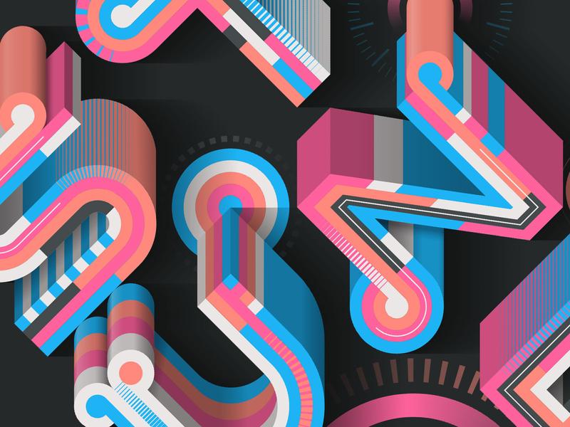Stunde (close-up) logo magazine design editorial illustration illustrator adobe vector lettering typography