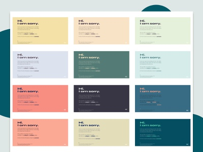 Portfolio colors migra syne colours exploration portfolio typography layout web design