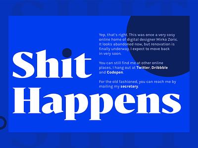 Portfolio Holder sketch web design karla bold colors typography portfolio