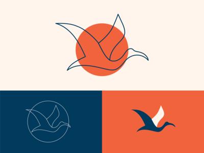 Caffe Ibis Logo Concept