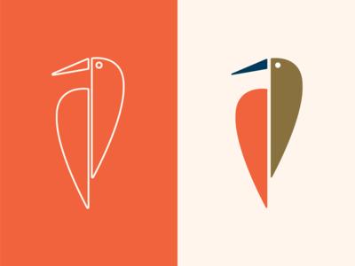 Caffe Ibis Logo Concept 2