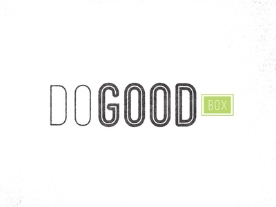 Do Good Logo Concept identity branding logo