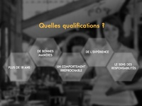 Website Qualification Section List Display