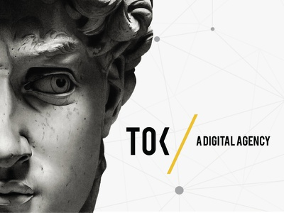 Presenting TOK / Digital Agency logo uxui webdesign design digital digital agency