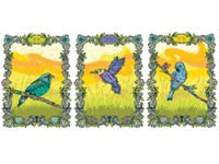 Poster 3birds