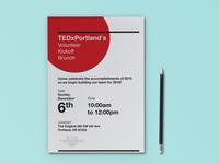 TEDx Portland Invitation