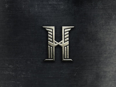 H + eagle game strategy strong wings monogram initial h eagle 2 war world headquarters