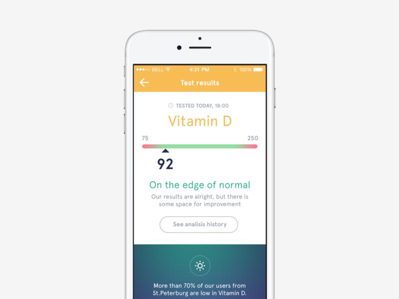Tatakoto app ios medical app healthcare ux ui