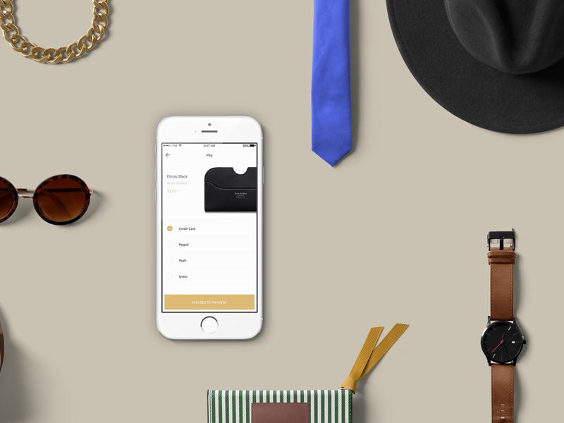 Fashion UI Kit ui template sketch shop kit iphone fashion e-commerce app