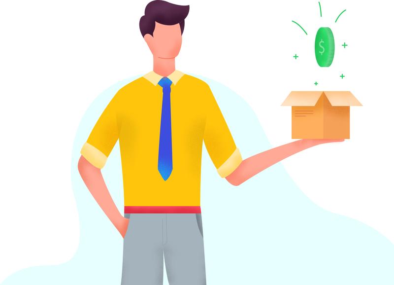 Bouns forex trading forex finance deposit bonus minimal ui design cartoon character character cartoon design web flat vector illustration