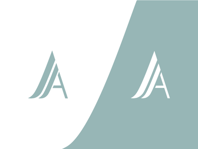 AA strong cold concept logo symbol lawyer law monogram aa