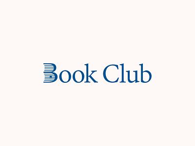 Book Club tab logo concept club books bookmark book