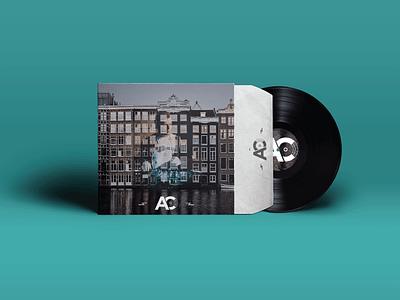 Vinyl Album Artwork producer music logo identity dj branding art album
