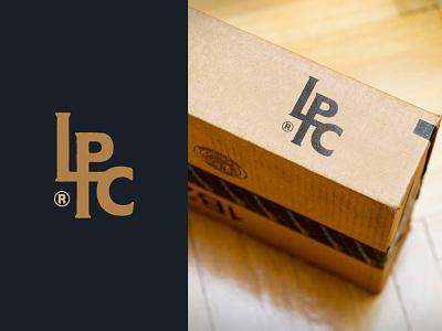 Monogram Logo For Low Pro Coilovers logomark branding stamp letters vintage type coilsprings logo monogram