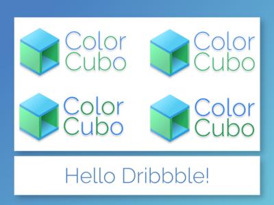 ColorCubo logo concepts