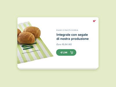 Esselunga Shop bread shop ecommerce yebo webdesign userinterface photoshop ux ui food