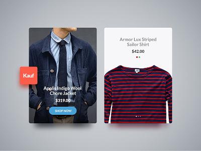 Kauf UI Web Kit web kit web site web design photoshop shop ecommerce template kauf user interface ui kit ui