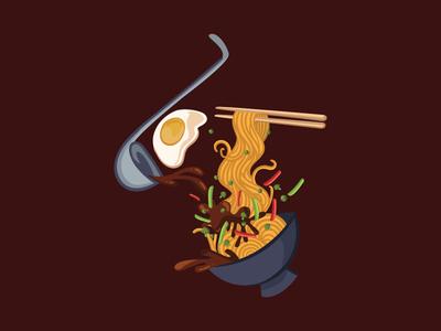 Mie ayam / chicken nodle
