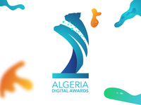 "Algerian Digital Awards LOGO ""white background"""