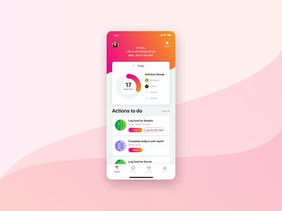 Twin Health App icon ux branding typography design app ui