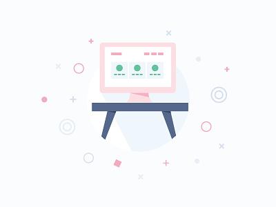 Platform Icon kalo platform vector illustration icon