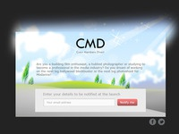 CMD Signup page